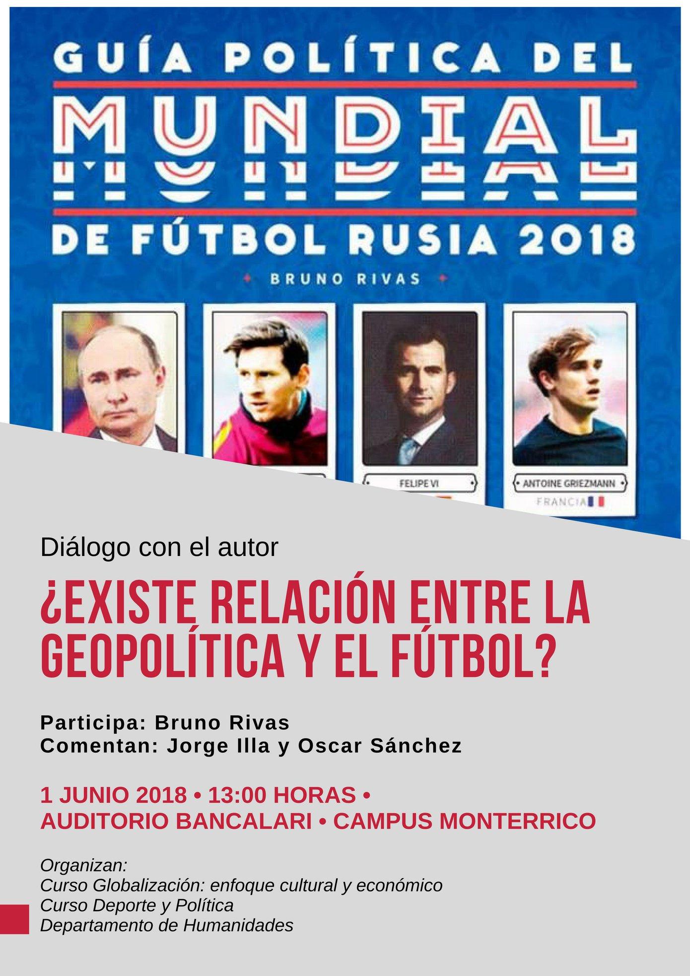 02758a59926cb Guía política del mundial de fútbol Rusia 2018  ¿Existe relación ...